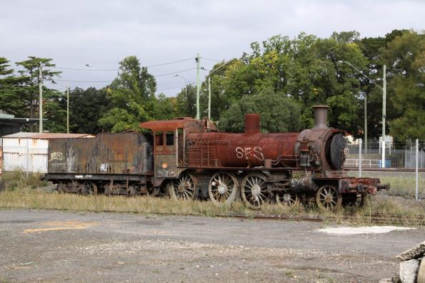 Another D3 stored at Ballarat East depot