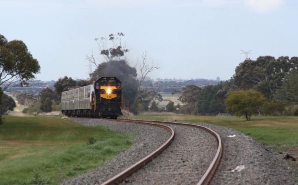 Hitachi transfer with T378 to Ballarat, August 2008