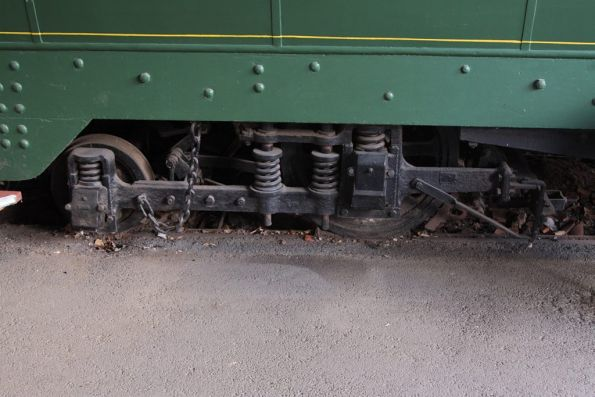 'Maximum Traction' bogies on tram 39