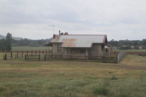 Former stationmasters house at Bungaree, now managed by the tramway museum