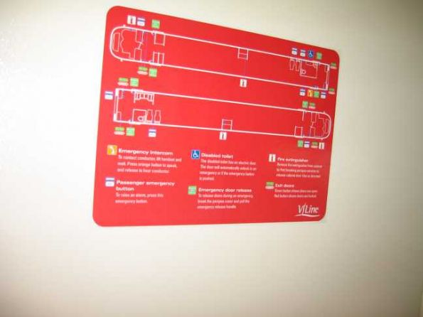 VLocity emergency exit map