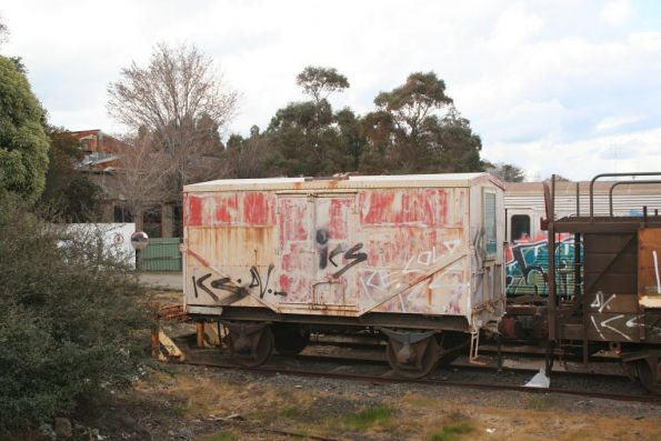 P explosives van stored at Alstom Ballarat