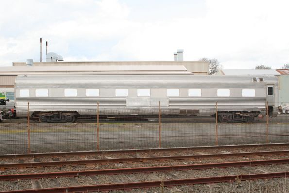 Indian Pacific car BRG173L under overhaul at Alstom Ballarat