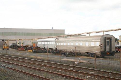 Indian Pacific carriages under overhaul at Alstom Ballarat