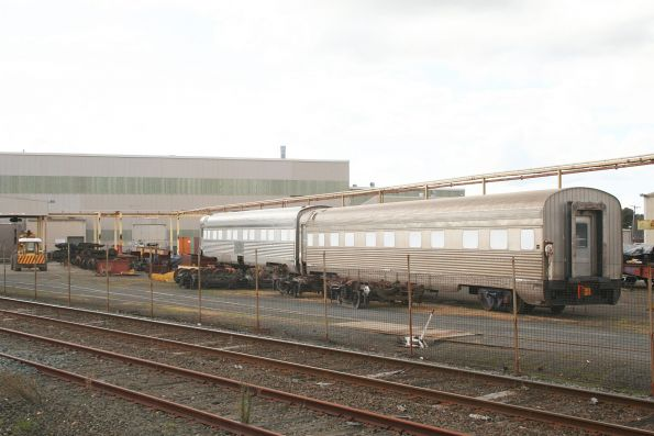 Indian Pacific carriages under overhaul at Alstom Ballarat
