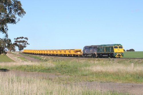 The ballast gets to leave Wingeel