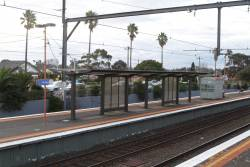 Useless platform shelters added at Bentleigh station
