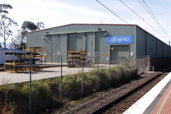 Two road maintenance shed at Bayswater workshops
