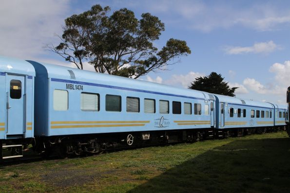 Ex-QR economy class sleeper MBS147 refurbished for the Q Train