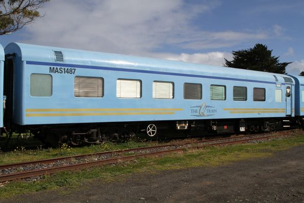 Ex-QR first class sleeper MAS1487 refurbished for the Q Train
