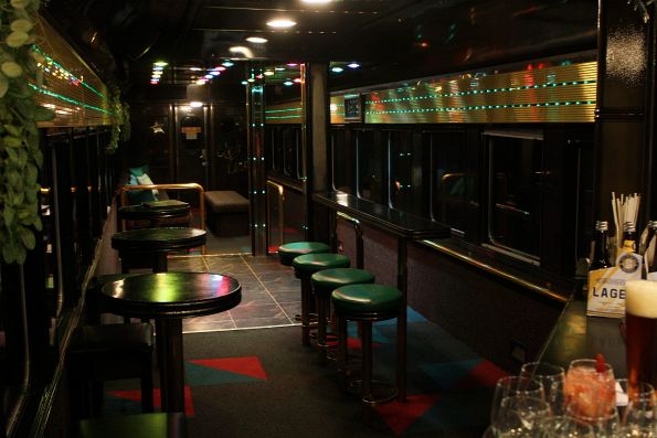 'Club Loco' onboard The Q Train