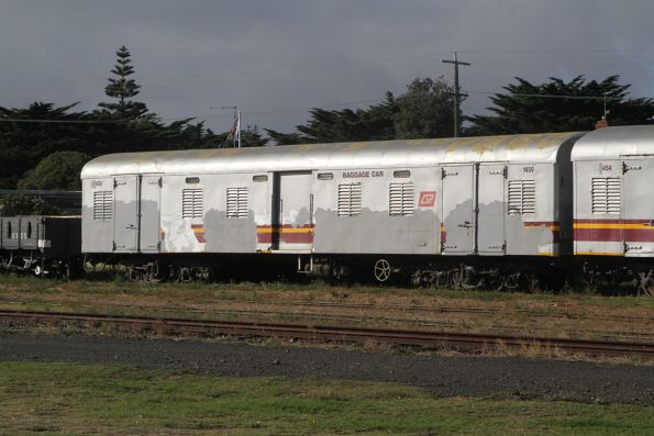 Ex-QR baggage car 1459 at Queenscliff