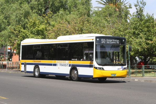 Christian's #128 BS02IC on route 50 at Bendigo station