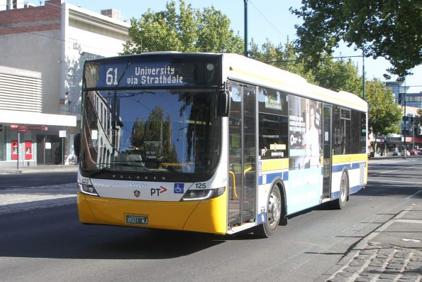 Christian's #125 BS01WJ on route 61 at Pall Mall