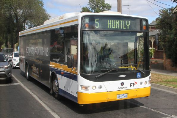 Christian's 6842AO on route 5 at Napier Street and Nolan Street