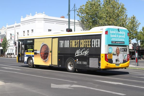Christian's #123 BS01WH on route 64 on Mitchell Street