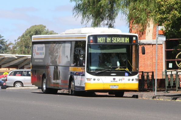 Christian's 7386AO not in service at Bendigo station