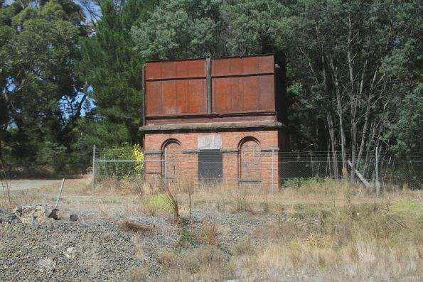 Water tank at Woodend station