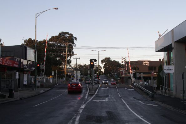 Blackburn Road level crossing removal project