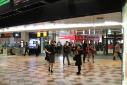 Main concourse at Brisbane Central station
