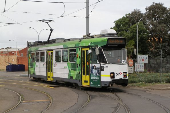 Z3.229 departs Brunswick Depot on route 6