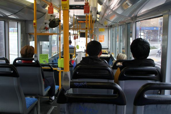 Onboard a Transdev bus on route 903