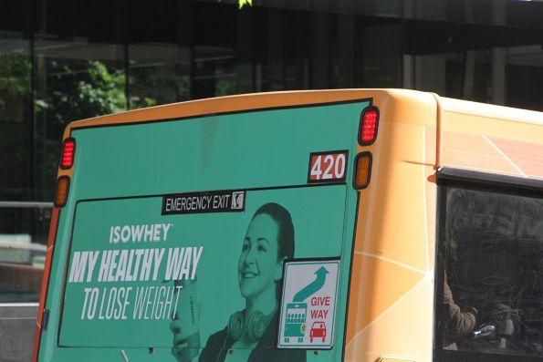 Transdev bus #420 7520AO