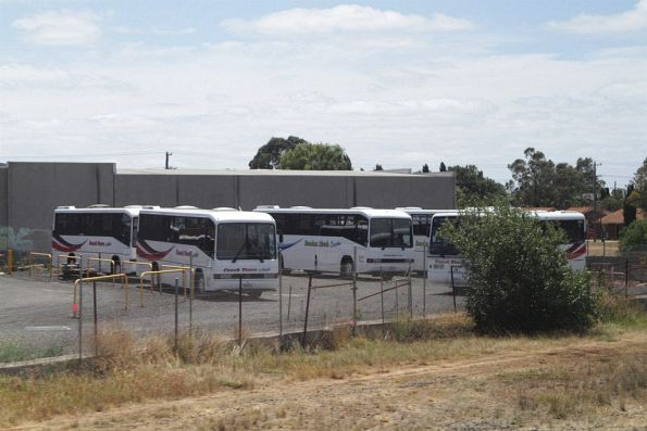 Bacchus Marsh Coaches and Coach Tours Australia depot at Melton