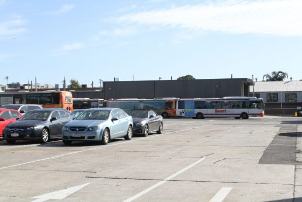 Transdev buses at the North Fitzroy depot