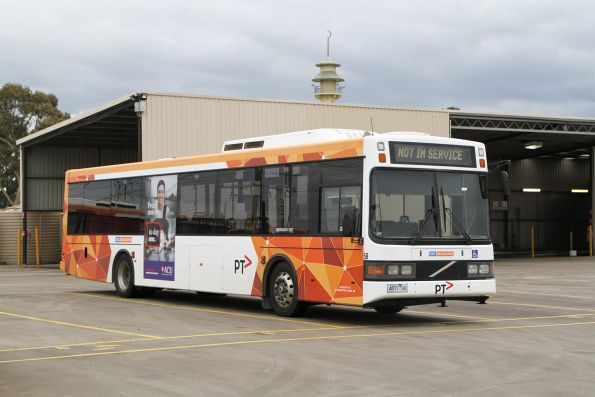 CDC Melbourne bus #58 4871AO at the Sunshine depot