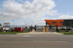 Main entrance to th4e CDC Melbourne Wyndham depot