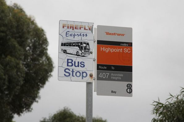 Firefly Express bus stop at Highpoint Shopping Centre