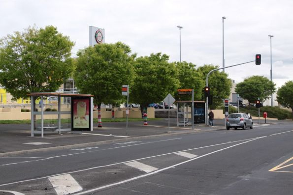 Bus stops at Sunshine shopping centre