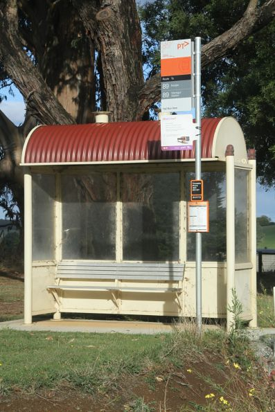Bus stop at Noojee South
