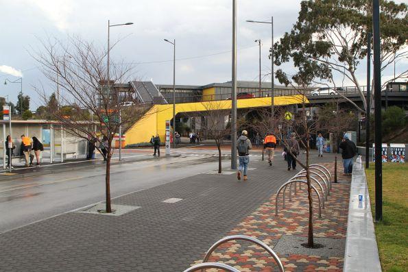 Bus interchange on the north-east side of Sunshine station