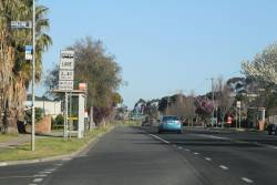 Bus lane between 3pm and 4:30pm on Old Calder Highway in Keilor