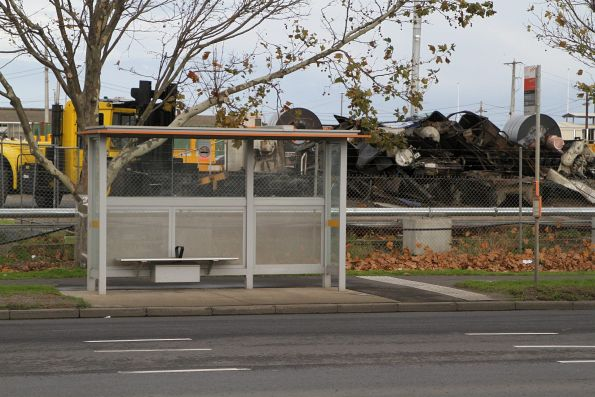 Bus stop at Dynon Road and Lloyd Street