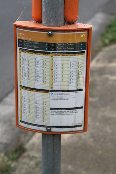 Bus stops and infrastructure in Victoria