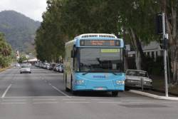 Sunbus #2620 on route 131 heads for central Cairns