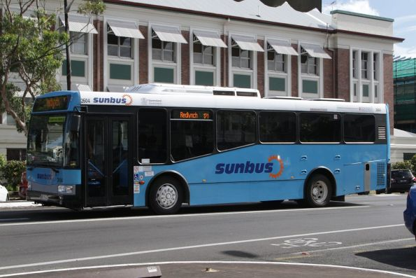 Sunbus #2604 on route 121 heads for Redlynch