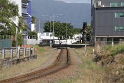 Signals CS26 and CS39 at the southern end of Cairns station