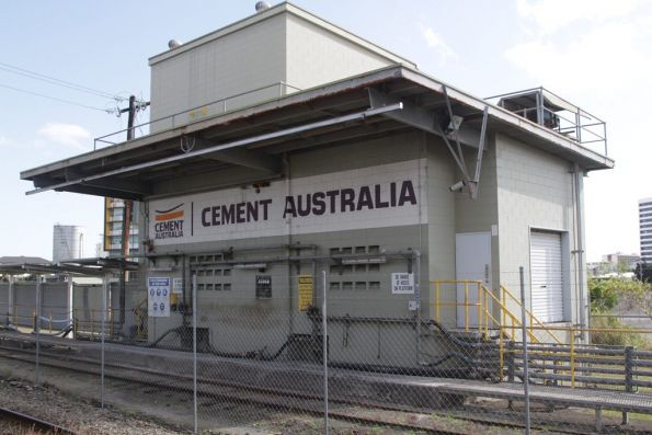 Cement Australia unloading point at Cairns