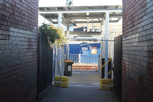 Murrumbeena station closed to passengers to allow construction to continue