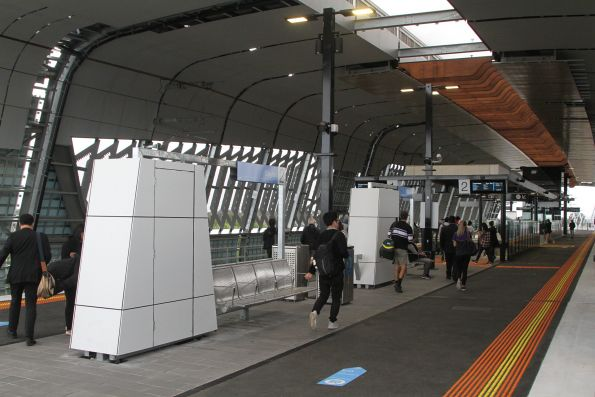 New elevated station at Clayton
