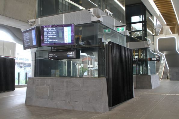 Pair of lifts at Murrumbeena station