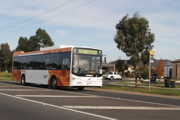 CDC Melbourne bus #125 8419AO on a shuttle to the Tarneit station open day