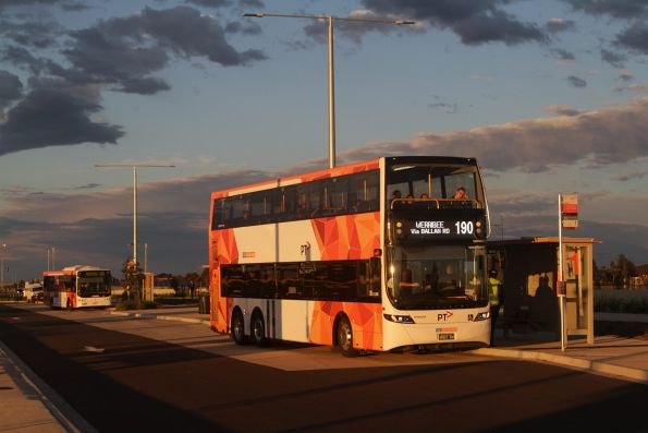CDC Melbourne double decker bus #131 BS01GV on a route 190 service at Wyndham Vale