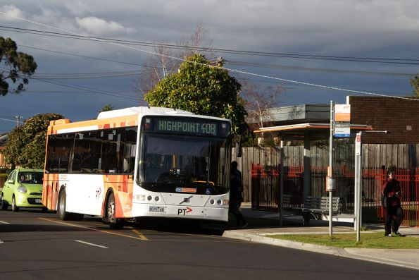 CDC Melbourne #89 rego 8015AO on a route 408 service at Ginifer station