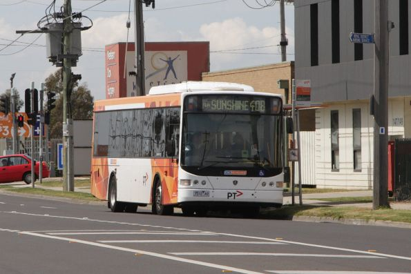 CDC Melbourne #87 rego 7512AO on a route 408 service outside Sunshine Hospital