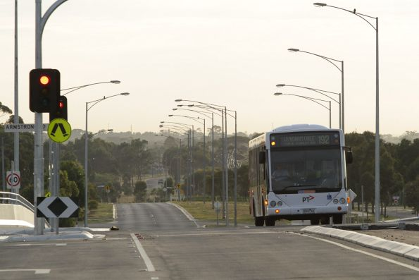 CDC Melbourne bus #95 5263AO on a route 192 service on Greens Road in Wyndham Vale